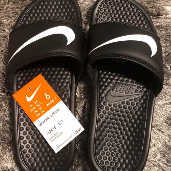 Shoes | Nike Slides Size 7 12 | Poshmark